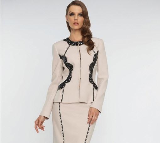 مدل لباس مجلسی زنانه 2016 /کت و دامن 2016