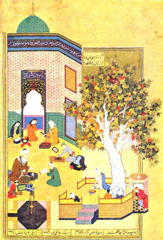 نقاشی از مکتب هرات