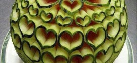 ایده ای جدید برای تزیین میوه و اجیل شب یلدا ۹۴