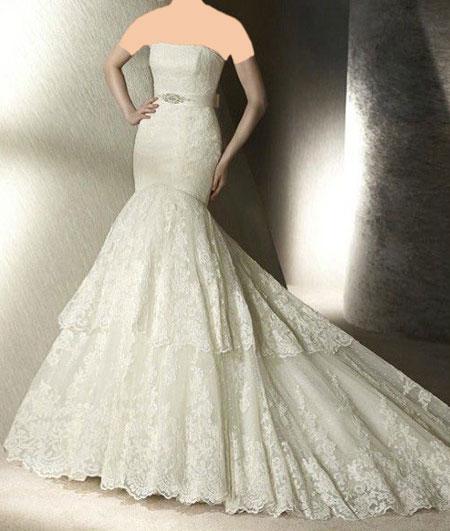 لباس عروس 2016-95 /لباس عروس دانتل