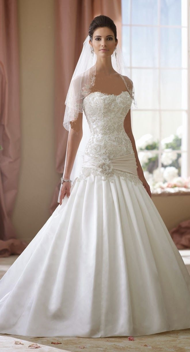 مجموعه ای از جدیدترین لباس عروس بهار 95