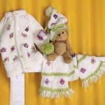 اموزش بافت لباس بچگانه به روشی اسان