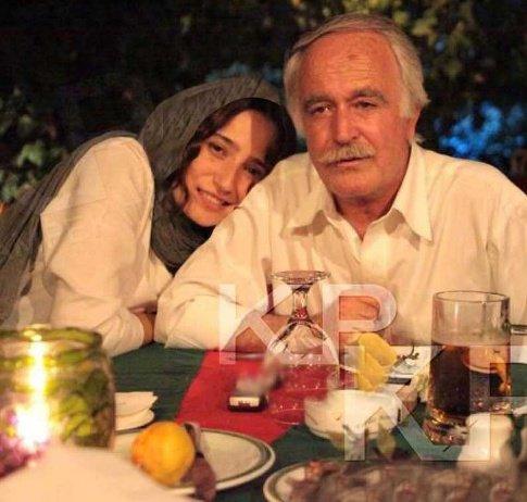عکس جدید نگار جواهریان در کنار پدرش