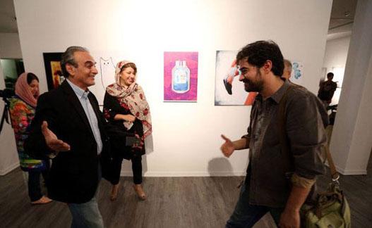 عکس های جدید شهاب حسینی در کنار همسرش