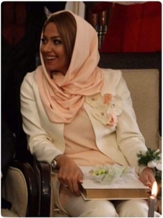 تصاویری از مراسم عقد محسن تنابنده و روشنک گلپا