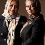 سحر قریشی به همراه مادرش در جشنواره ی فیلم فجر