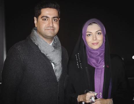 عکس جدید ازاده نامداری در کنار همسرش