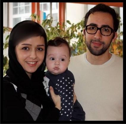 عکس زیبای ترانه علیدوستی و همسرش