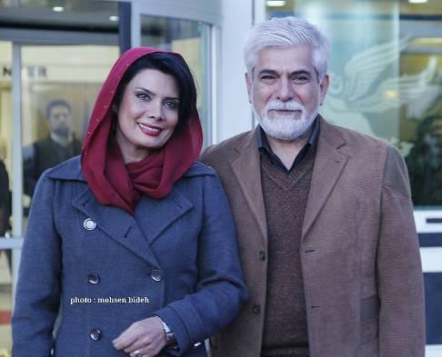 عکس پاکدل ها در کنار همسرانشان