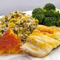 طرز تهیه ی سبزی پلو با ماهی غذای مخصوص شب عید