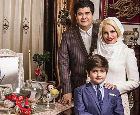 عکس بازیگران و چهره های مشهور ایرانی کنار سفره هفت سین 95
