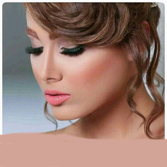 مجموعه مدل ارایش عروس 2016 / مدل مو شینیون بهار 95