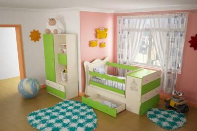 چیدمان اتاق کودک / سیسمونی نوزاد دختر و پسر