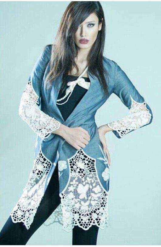 مجموعه مدل مانتو مجلسی تابستان 95 زنانه و دخترانه