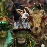 گزارش تصویری ازشرکت کنندگان رژه سبز در جنوب انگلیس