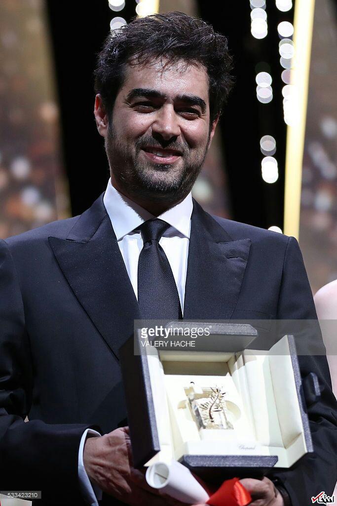 شهاب حسینی نخل طلای کن را گرفت