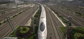 گزارش تصویری از قطار سریع السیر در چین