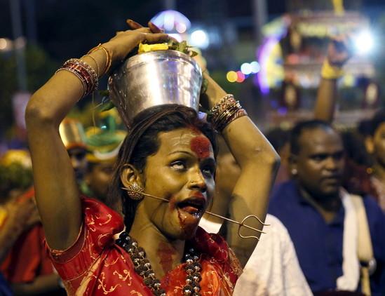 گزارش تصویری از تایپوسام جشن هندی