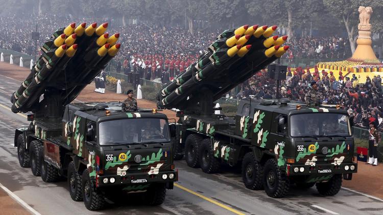 گزارش تصویری از رژه ارتش هند