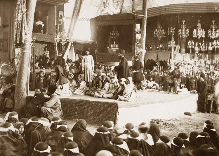عکسهای قدیمی از مراسم عاشورا