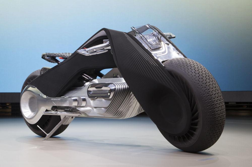 طرح مفهومی از موتور سیکلت برقی BMW