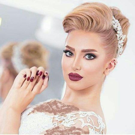 زیباترین مدل ارایش عروس 2018 / شینیون عروس بهار 97