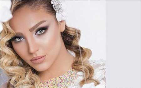 زیباترین مدل ارایش عروس 2017 / شینیون عروس 2017