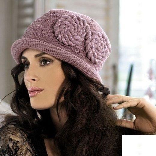 جدیدترین مدل شال و کلاه بافت 2017 دخترانه