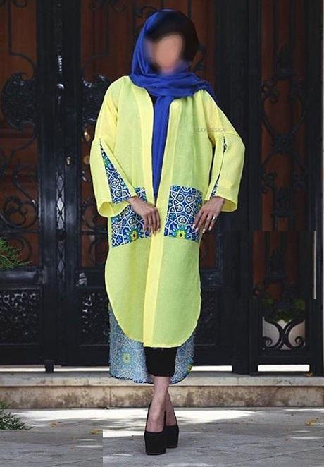 جدیدترین مدل مانتو بهاره 97 / مانتو 2018 ایرانی زنانه و دخترانه