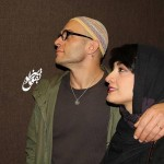 عکس مینا ساداتی در کنار همسرش