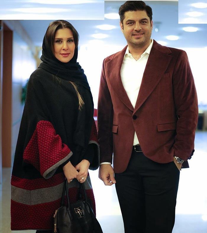 عکس زیبای سام درخشانی و همسرش در جشنواره در ترکیه