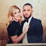 اشکان دژاگه و همسرش در روز عشق