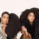 خواهران دوقلو با موهای باور نکردنی