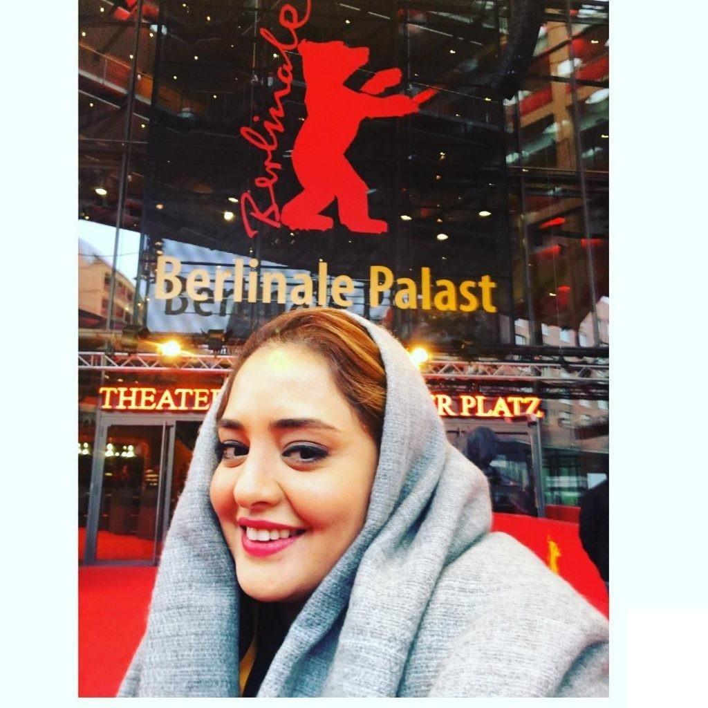 تیپ خاص نرگس محمدی در برلین 2017
