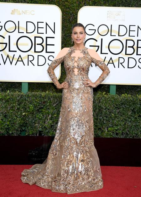 لباس جالب هنرمندان در مراسم Golden Globes 2017