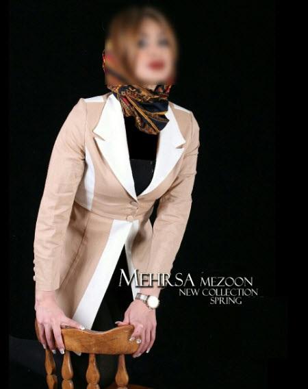 مجموعه مدل مانتو تابستانه مهرسا 2017/ مانتو مجلسی تابستان 96