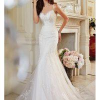 سری جدید مدل لباس عروس اروپایی ۲۰۱۸ دانتل