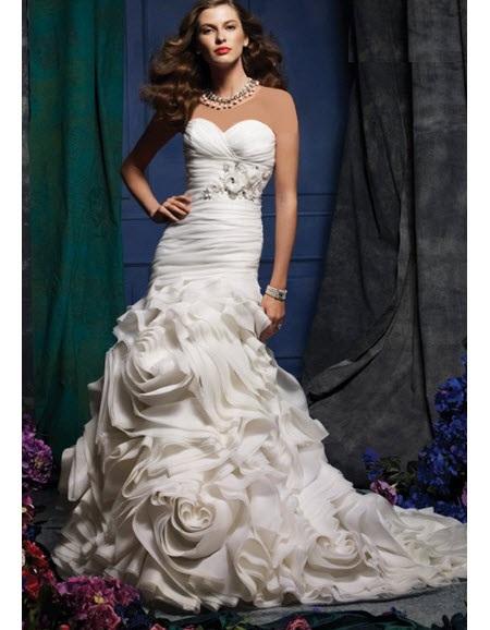 سری جدید مدل لباس عروس اروپایی 2017 دانتل