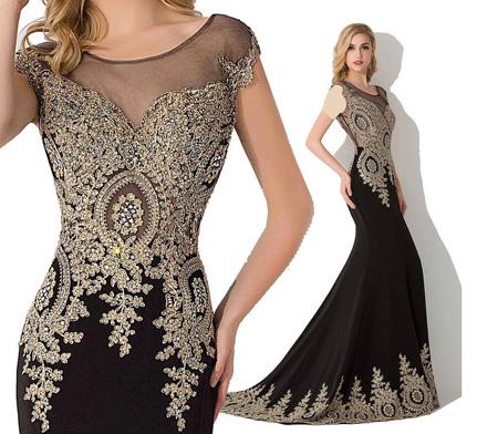 ژورنال مدل لباس شب بلند 2017/ مدل لباس نامزدی تابستان 96