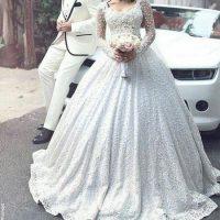 مجموعه مدل لباس عروس جدید ۲۰۱۷/ مدل لباس عروس دانتل تابستان ۹۶