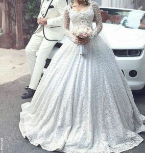 مجموعه مدل لباس عروس جدید 2017/ مدل لباس عروس دانتل تابستان 96