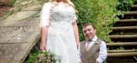 ازدواج شگفت انگیز مرد کوتوله با زن قد بلند