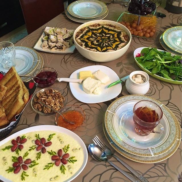 عکس ماه رمضان افطاری
