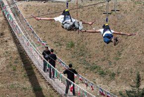 افتتاح پل معلق برج میلاد