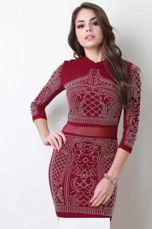 مدل لباس مجلسی 2018 پاییزه