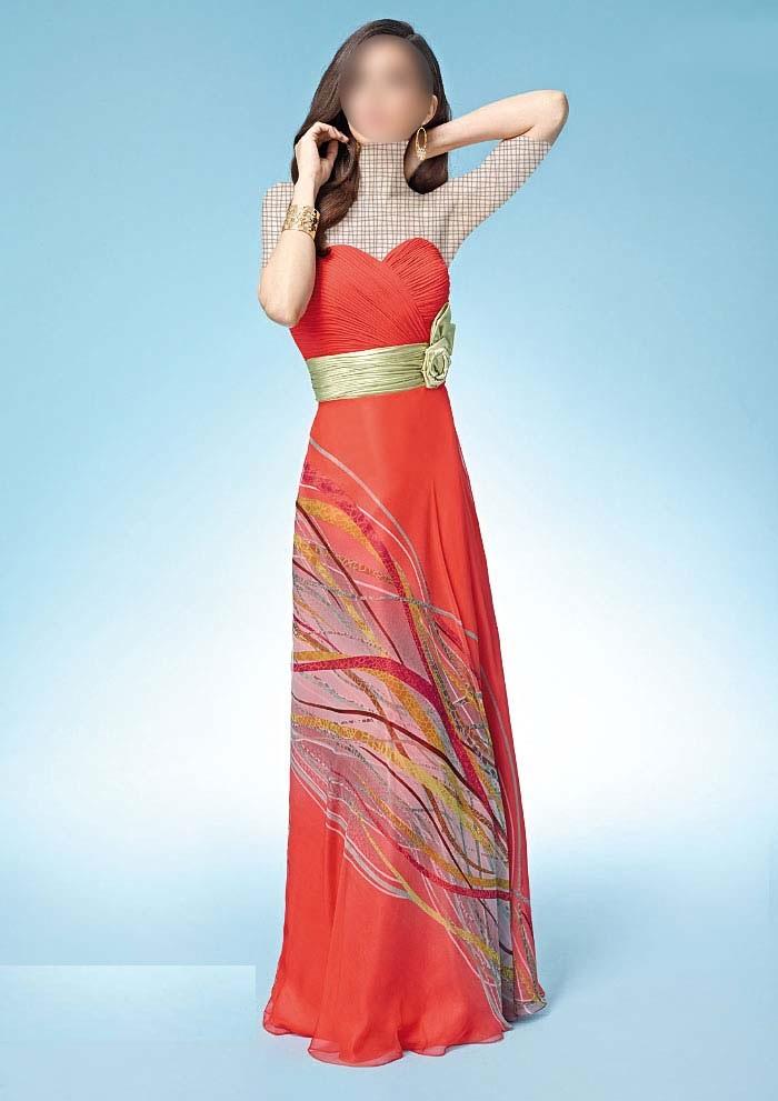 لباس مجلسی بلند تابستان 96 جدید زنانه و دخترانه