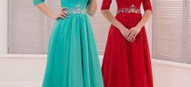 جدیدترین مدل لباس نامزدی ۲۰۱۸ خارجی/ لباس شب بلند ۲۰۱۸