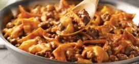 طرز تهیه ی تاکوی گوشت تابه ای غذای مدرن