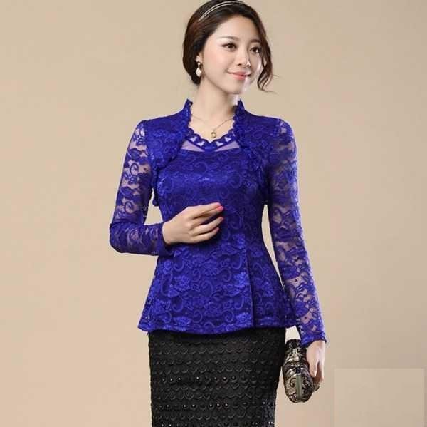 لباس مجلسی کره ای 2018/ شومیز دخترانه