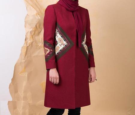 مجموعه مدل مانتو مجلسی ایرانی